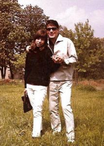 Das junge Paar Bärbel und Konstantin ca. 1964/65.