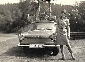 """Das erste """"Olper"""" Auto, angeschafft 1968: Die Borgward Arabella."""